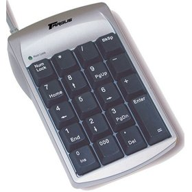 USB Keypad provide faster Data Input: Low-Profile Key Design Allows for Convenient Data Input Ideal for Spreadsheet, Accounting and Financial Applications